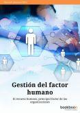 Gestión del factor humano